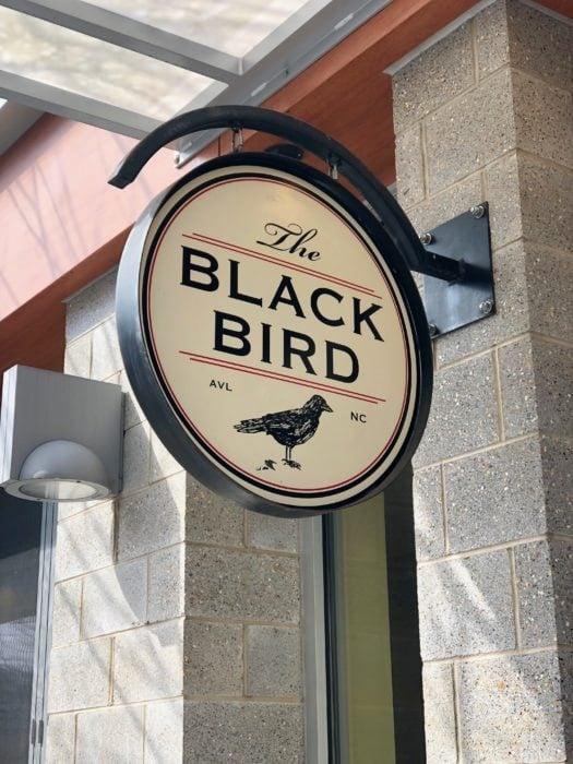 Blackbird restaurant in Asheville, NC