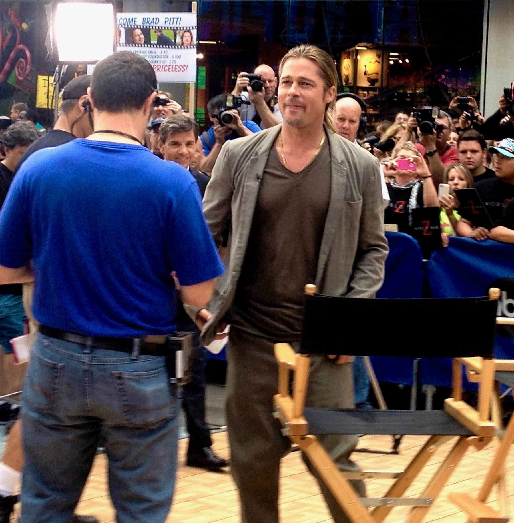 Brad Pitt at Good Morning America, New York City