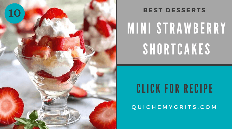 best ever desserts mini strawberry shortcakes in tiny glasses