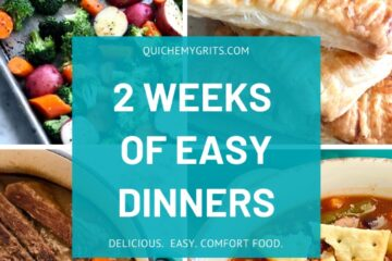 2 weeks of easy dinners