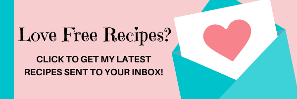 click to sign up for my latest recipes