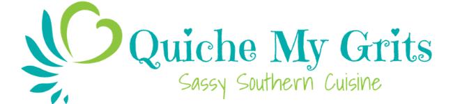 Quiche My Grits logo